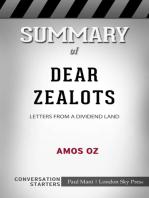 Summary of Dear Zealots