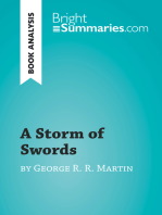 A Storm of Swords by George R. R. Martin (Book Analysis)