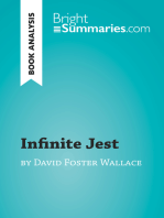 Infinite Jest by David Foster Wallace (Book Analysis)