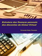 Estrutura das finanças pessoais dos discentes da Unisul Virtual