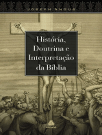 História e doutrina e interpretação da bíblia