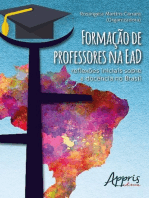 Formação de professores na ead: reflexões iniciais sobre a docência no brasil