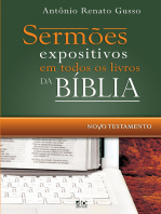 Sermões expositivos em todos os livros da Bíblia - Novo Testamento