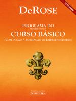 Programa do primeiro ano do curso básico