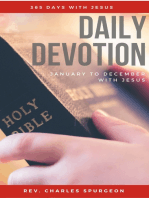 Daily Devotion - 365 Days With Jesus