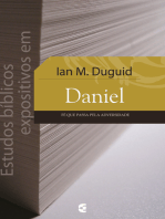 Estudos bíblicos expositivos em Daniel