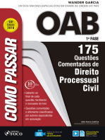 Como passar na OAB 1ª Fase