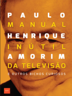 Manual inútil da televisão