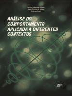 Análise do comportamento aplicada a diferentes contextos