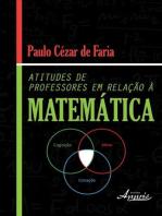Atitudes de professores em relação à matemática