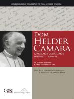 Dom Helder Camara Circulares Conciliares Volume I - Tomo III