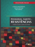 Pedagogia, sujeitos e resistências