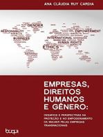 Empresas, Direitos Humanos e Gêneros: Desafios e Perspectivas na Proteção e no Empoderamento da Mulher pelas Empresas Transnacionais