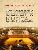 Comportamento das Baixas Frequências em Salas para Uso Musical