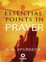 Essential Points in Prayer