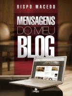 Mensagens do meu blog