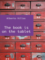 The book is on the tablet