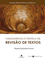 Fundamentos à Prática de Revisão de Textos