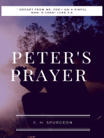 Peter`s Prayer
