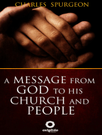 A message from God to his church and people