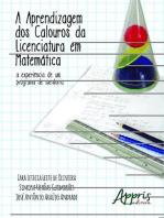 A aprendizagem dos calouros da licenciatura em matemática