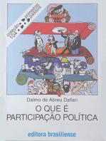 O que é participação política