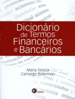 Dicionário de termos financeiros e bancários