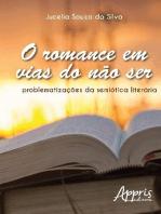 O romance em vias do não ser