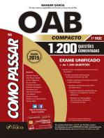 Como Passar - OAB Compacto - 2015