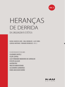 Heranças de Derrida (vol.2): Da linguagem à estética