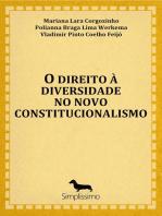 O direito à diversidade no novo constitucionalismo