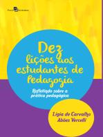 Dez Lições aos Estudantes de Pedagogia