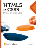 HTML5 e CSS3: Domine a web do futuro