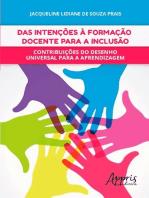 Das intenções à formação docente para a inclusão
