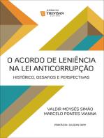 O acordo de leniência na lei anticorrupção