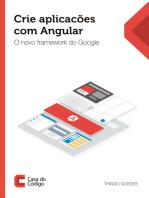Crie aplicações com Angular