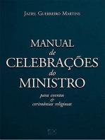 Manual de celebrações do ministro