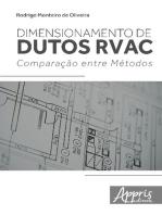 Dimensionamento de dutos rvac: comparação entre métodos