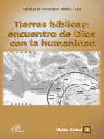 Tierras bíblicas: encuentro de Dios con la humanidad