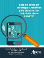 Base de dados em tecnologias assistivas para pessoas com deficiência visual badatec