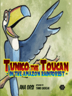 Tunico the Toucan in the Amazon Rainforest