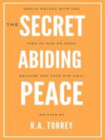 The Secret of Abiding Peace