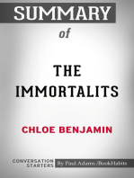 Summary of The Immortalists by Chloe Benjamin | Conversation Starters