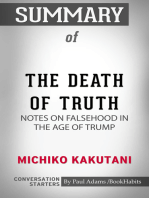 Summary of The Death of Truth