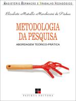 Metodologia da pesquisa: Abordagem teórico-prática