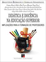 Didática e docência na educação superior