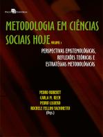 Metodologia em Ciências Sociais hoje