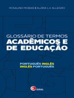 Glossário de termos acadêmicos e de educação