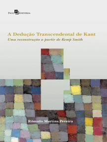A Dedução Transcendental de Kant: Uma Reconstrução a partir de Kemp Smith