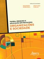 Teoria, Pesquisa e Aplicação em Psicologia – Organizações e Sociedade